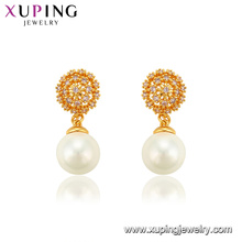 94571 xuping jewelry copper alloy pearl ancient eardrops fashion earring