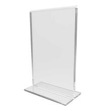 Soporte de pantalla de plexiglás A4 / soporte de pantalla de carteles