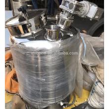 30l / 50l / 100l / 200l Alkoholdestillationsbehälter für den Heimgebrauch, Mischtank mit Rührwerksdestillierkessel können