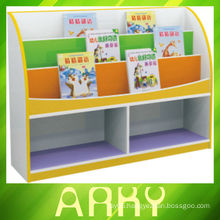 Nursery School Melamine Particle Board Kids Bookshelf