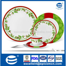 Chirstmas decal royal fine porcelain