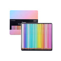Andstal 12/24 Oil Pastel Colored Pencil Set Watercolor Drawing Color Colored Pencils Professional for Art School Supplies