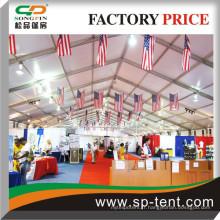 Tentes géantes 30x70m pour les grands salons en plein air