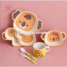 Детский набор посуды с ложкой и чашей