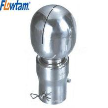 Aço inoxidável tanque acessório bolt-tipo limpeza bola