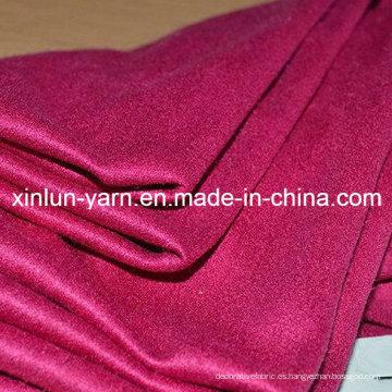 Tela ignífuga material del ante del paño del poliéster para la ropa