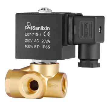 Соленоидный клапан с повышенным давлением, управляемый давлением