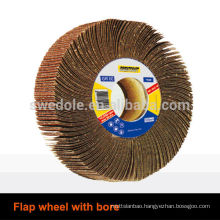abrasive flap wheel With Bore