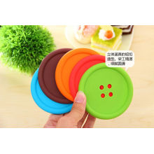 2016 Hot Selling Eco-Friendly Silicone Cup Mat