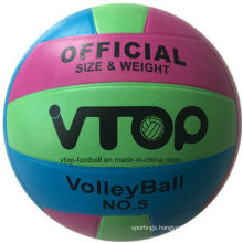 18 Panels Rubber Volleyball with High Quality