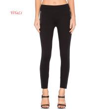Glissière latérale décorative noire Top Fashion Legging
