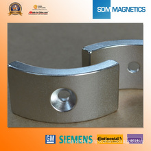 Certificated Neo Arc Permanent Magnet