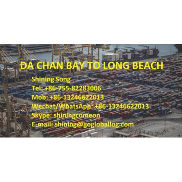 Shenzhen Da Chan Bay Sea Freight para a América Long Beach