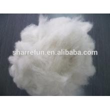 ventas al por mayor Dehaired y Carded Fox Hair 16.0mic / 26mm