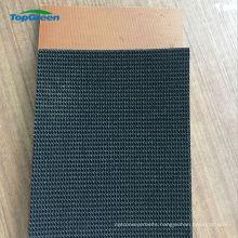non skid griflex honeycomb rubber conveyor belt