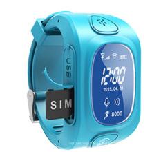 GPS Tracker Kids con sistemas de localización por GPS, teléfono con reloj móvil (WT50-KW)