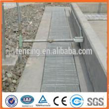 Grille de surface plate galvanisée, grille de surface lisse, grille en acier de surface lisse