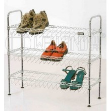 DIY Adjustable Chrome Shoe Rack Organizer Factory (CJ-C1132)