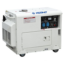 5GF-B03 Tipo silencioso Generador diesel de la energía de la sola fase, generador diesel (5KW)
