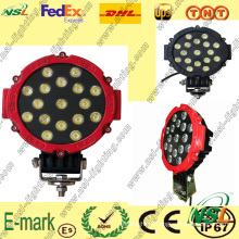 17 PCS * 3W LED luz de trabalho, IP67 LED luz de trabalho, 6000k LED luz de trabalho para caminhões