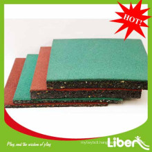 2014 Liben rubber playground flooring for sale