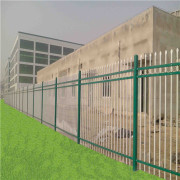 powder coated security backyard metal steel picket fence