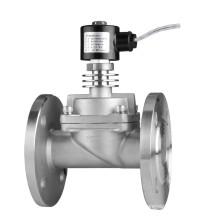 Válvula solenoide de acero inoxidable (alta temperatura)