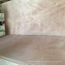 Fabricante de la piel de la puerta de la madera contrachapada de la chapa de la cara de Okoume