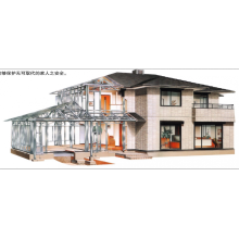 steel structure prefabricated office metal frame house