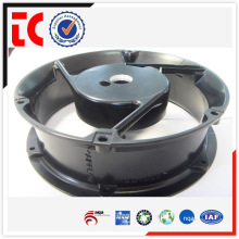China OEM personalizado feito alumínio rodada fã caixa de die casting
