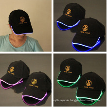 LED Blinking Cap with Logo Printed
