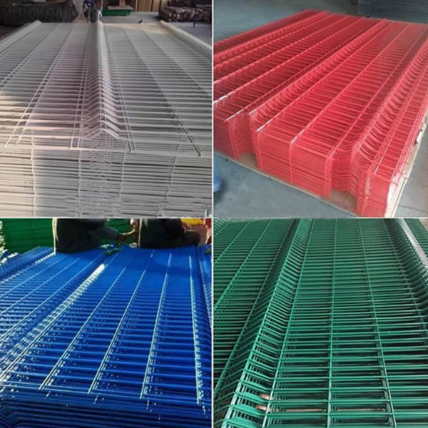 3D Security Welded Wire Mesh Fence