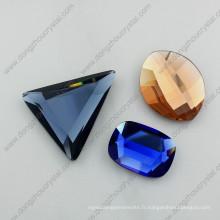 Pierres en cristal en vrac de verre de miroir de 8mm-25mm pour des accessoires de bijoux