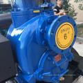 T-6-Serie Dieselmotorantrieb selbstansaugende Anhänger Abwasserpumpe Einheit