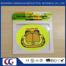 Promotional Smile Shape Reflective Sticker