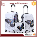 Maleta para PC Colorful Trolley Travel Bags Mariposa Equipaje Set