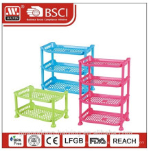 Plastic PP rack table rack for storage
