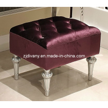 Estilo poste-moderno Living comedor tela asiento taburete (LS-311)