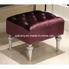 Sala de estilo pós-moderno tecido assento banquinho (LS-311)