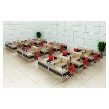 Alta calidad y cubículo y estación de trabajo modificados para requisitos particulares baratos de la oficina (HF-YZT250)
