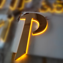 Halo Lit LED Channel Letter Signs