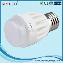 Éclairage LED rayé haut lumen ce rohs Dimmable 8w E27 G45 bulbe