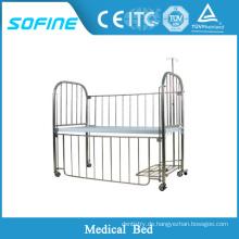 SF-DJ123 Edelstahl Baby Krankenhaus Bett