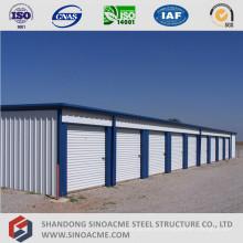 Almacenamiento de almacenamiento de estructura de acero prefabricado