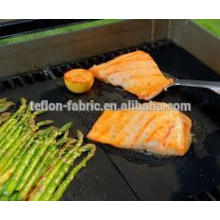 Hot in USA PTFE food grade high temperature resistance fiberglass bbq grill mat