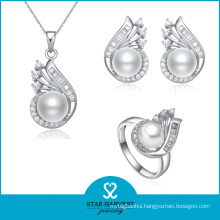 Championship 925 Sterling Silver Jewelry Set with Customed Logo (J-0100)