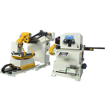 Servo+Feeding+Straightening+Uncoiler+Machine