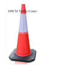 100CM EVA Safety Cones Collapsible Traffic Cone Reflective Cone