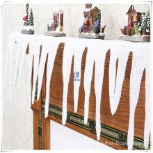 Glitter Icicle Fringe 2m Christmas Xmas Fake Ice Snow Decoration
