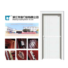 Solid Interior Wooden Door with White Color (LTS-118)